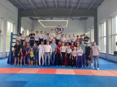 22 июля в нашу школу приезжал заслуженный мастер спорта России , олимпийский чемпион Александр Владимирович Поветкин
