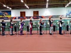 С 22 по 30 июня проходили Всероссийские соревнования по пулевой стрельбе из пневматического оружия «Юный стрелок России» в городе Ижевск .